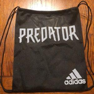 Adidas mesh backpack. Black